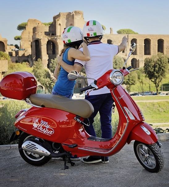 Tour by Vespa