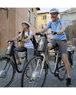 ROME HISTORIC CENTER BY E-BIKE AND GELATO