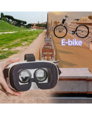 3D VIRTUAL TOUR OF THE CAESARS BY E-BIKE