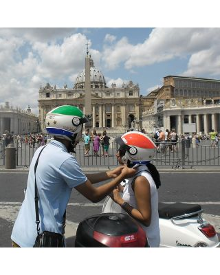 Combo Vespa Papal Tour and vatican Museums entrance starting from your Hotel