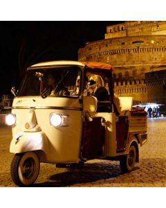 APE CALESSINO TOUR OF ROME BY NIGHT