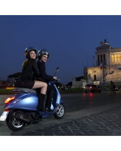 ROME SUNSETS BY VESPA